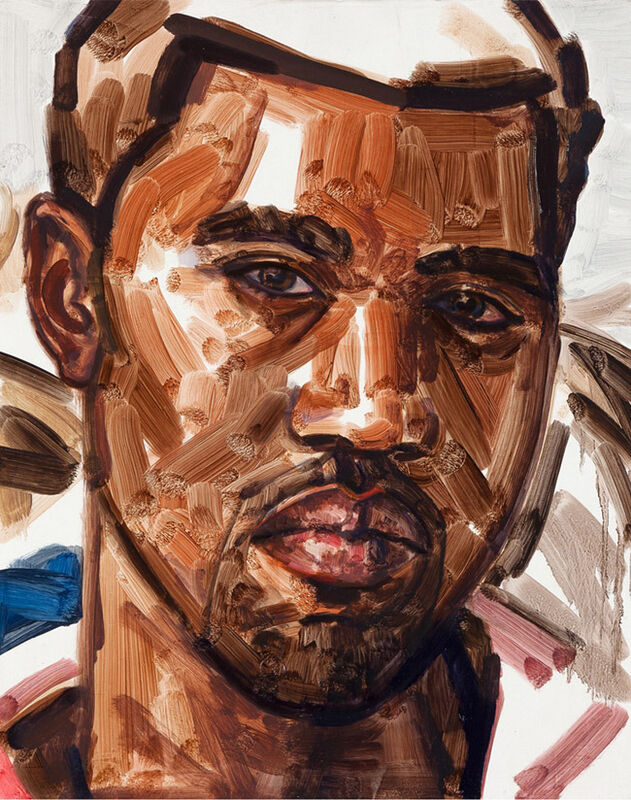 Elizabeth Peyton, 'Kanye', 2010-2011, Painting, Oil on linen covered board, Gagosian