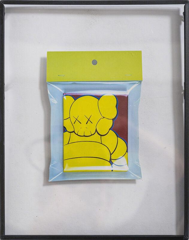KAWS, 'BAPE GALLERY «KAWS EXHIBITION_ ORIGINAL FAKE» SHOW CARD', 2003, Other, Invitation card of Bape Gallery for the exhibition «Kaws Exhibition_Original Fake», DIGARD AUCTION