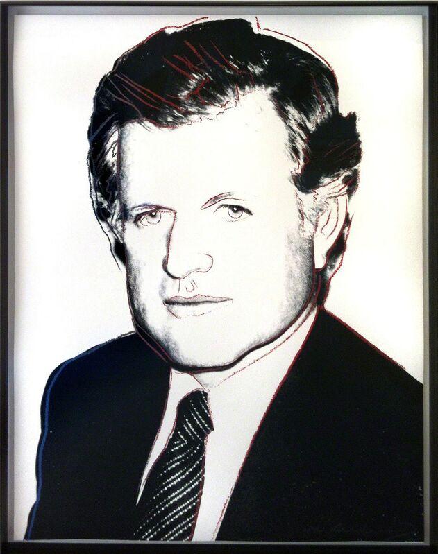 Andy Warhol, 'Edward Kennedy', 1980, Print, Silkscreen and diamond dust on Lenox Museum Board, Woodward Gallery