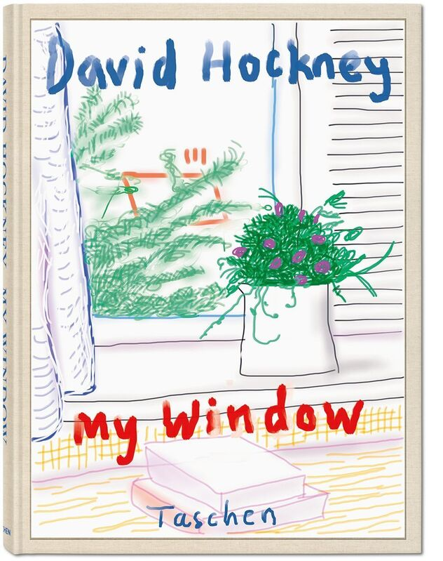 David Hockney, 'David Hockney. My Window. 'No. 610', 23rd December 2010', 2019, Print, Hardcover, 15.2 x 19.7 in., 248 pages, signed by David Hockney; with a signed print of the iPad drawing 'No. 610', 23rd December 2010, 8-color inkjet print on cotton-fiber archival paper, 17 x 22 in., TASCHEN