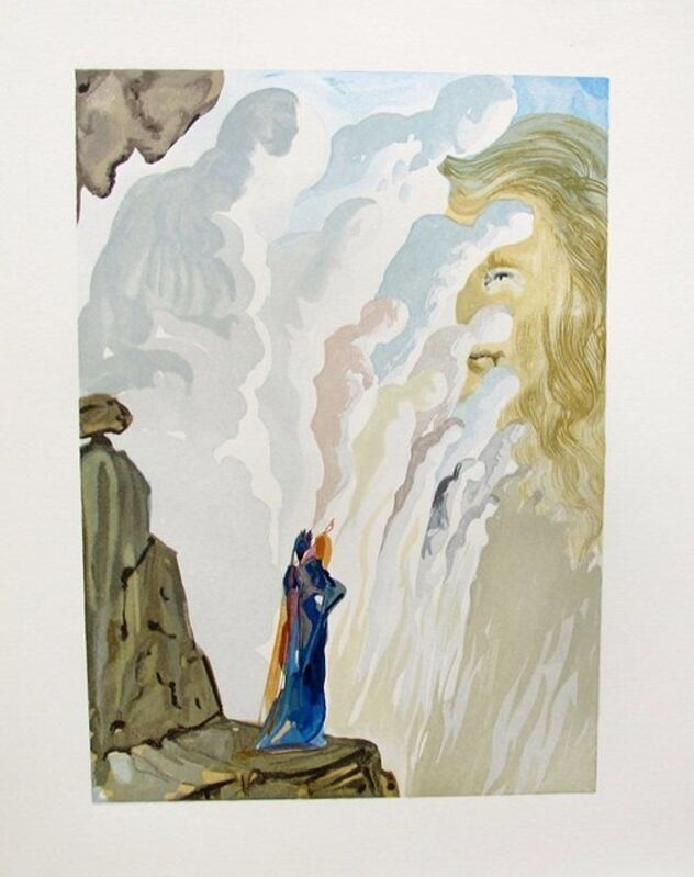 Salvador Dalí, 'The Beauty of The Sculpture (Purgatory #12, The Divine Comedy)', 1960, Print, Original Woodblock Engraving on BFK Rives paper, Artsy x Capsule Auctions