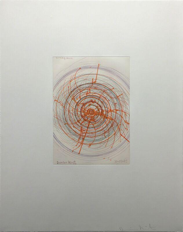 Damien Hirst, 'Burning Wheel ', 2002, Print, Etching on 350gsm Hahnmuhle paper, DTR Modern Galleries