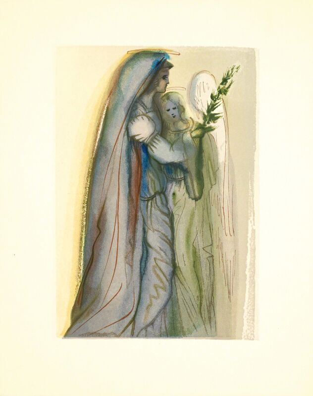 Salvador Dalí, 'Heaven Canto 32 (The Divine Comedy)', 1959-1964, Print, Wood engraving, Martin Lawrence Galleries