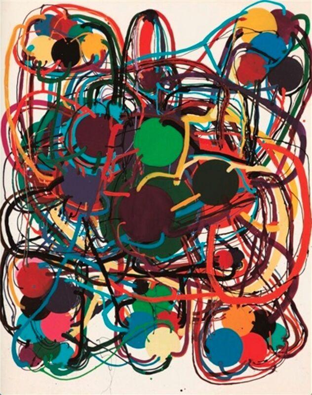 Atsuko Tanaka, 'Work', 1976, Painting, Vinyl paint on canvas, de Sarthe Gallery