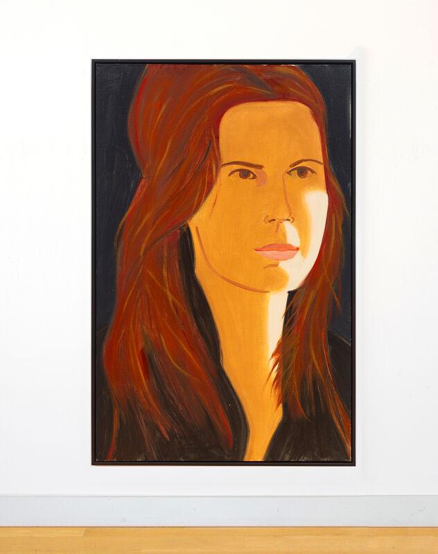 Alex Katz, 'Sinead', 2017, Painting, Oil on linen, Peter Blum Gallery