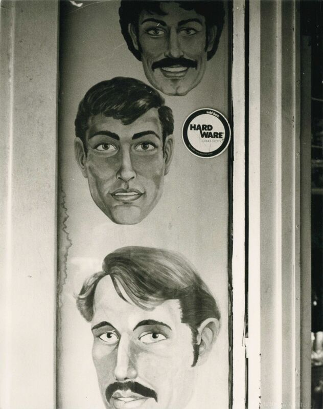 Andy Warhol, 'Three Painted Faces (Men with Moustaches)', 1986, Photography, Gelatin silver print, Hedges Projects