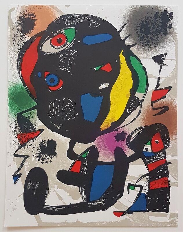 Joan Miró, 'Lithographie Originale V', 1981, Print, Color Lithograph, Cerbera Gallery