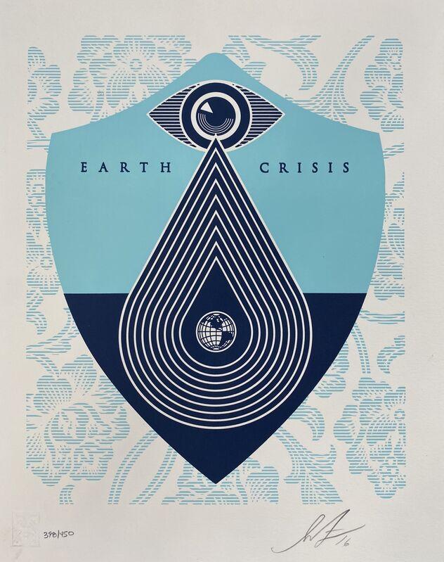 Shepard Fairey, 'Earth Crisis (Set of 6)', 2016, Print, Letterpress prints, Artsy x Tate Ward