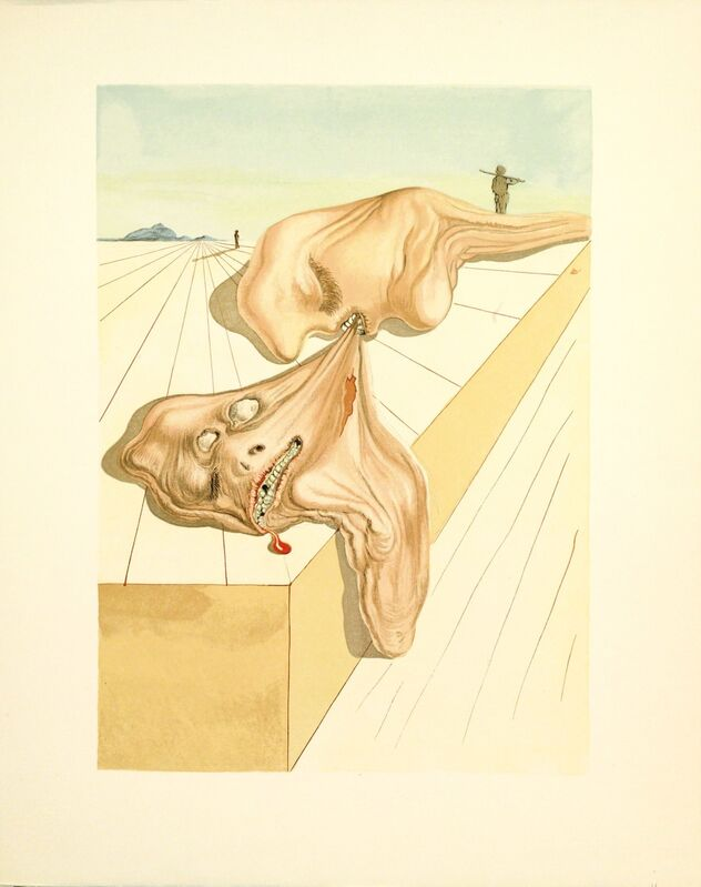 Salvador Dalí, 'Purgatory Canto 30 (The Divine Comedy)', 1959-1964, Print, Wood engraving, Martin Lawrence Galleries