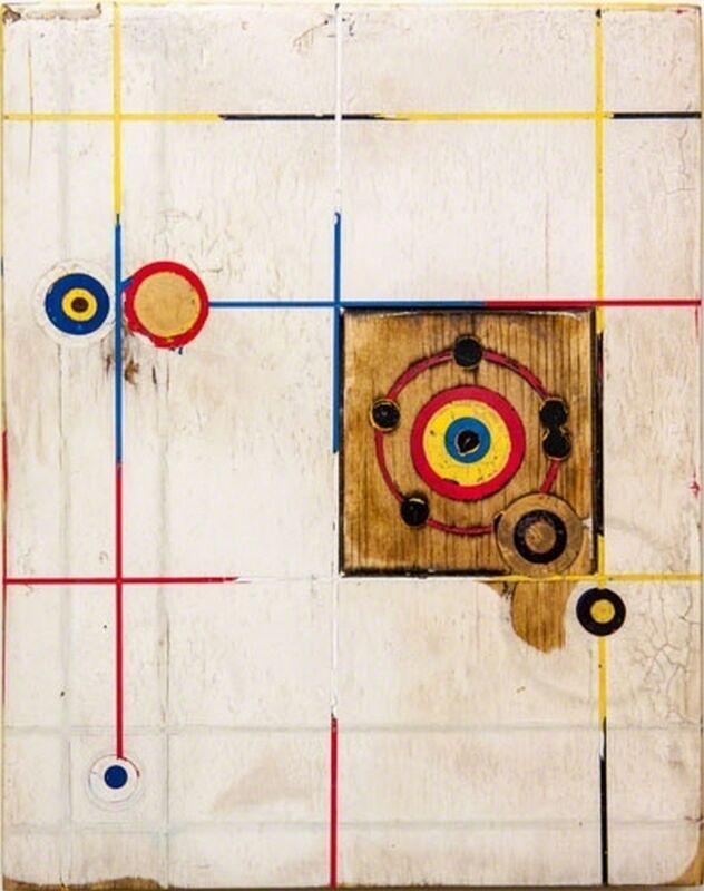 Kris Cox, 'Henthorne Three, Bone', 2014, Mixed Media, Pigmented wood putty, acrylic, Dorland's Wax Medium on wood panel, William Campbell Contemporary Art Inc