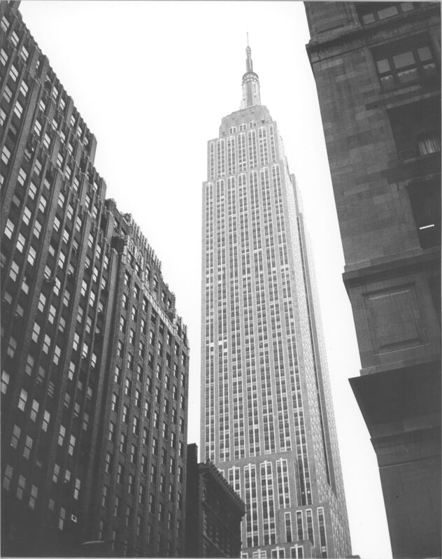 Andy Warhol, 'Empire State Building', ca. 1970, Photography, Silver gelatin print on paper, Galerie Andrea Caratsch