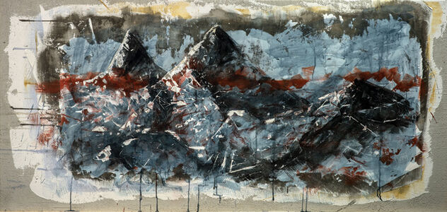 Andrea Capanna, 'Look out 1 (mountains)', 2021
