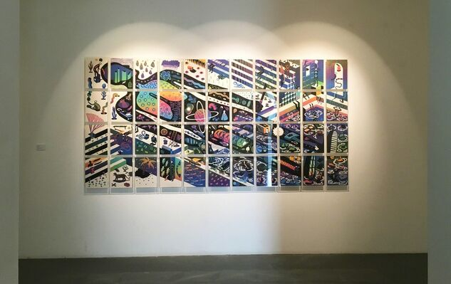 MULTIPLE JUNCTURES, installation view