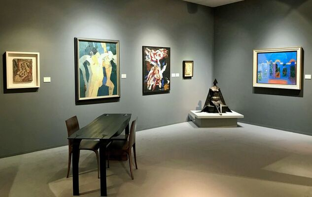 Connaught Brown at TEFAF Maastricht 2018, installation view
