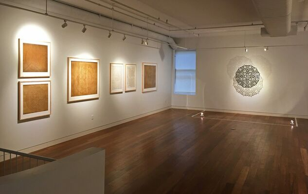 Walking with my Mother's Shadow, installation view