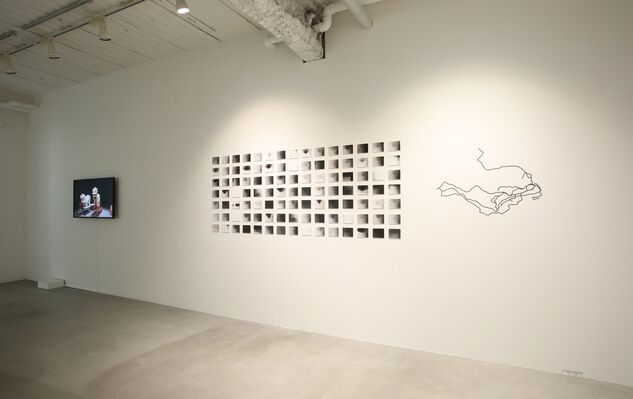 Motions, installation view