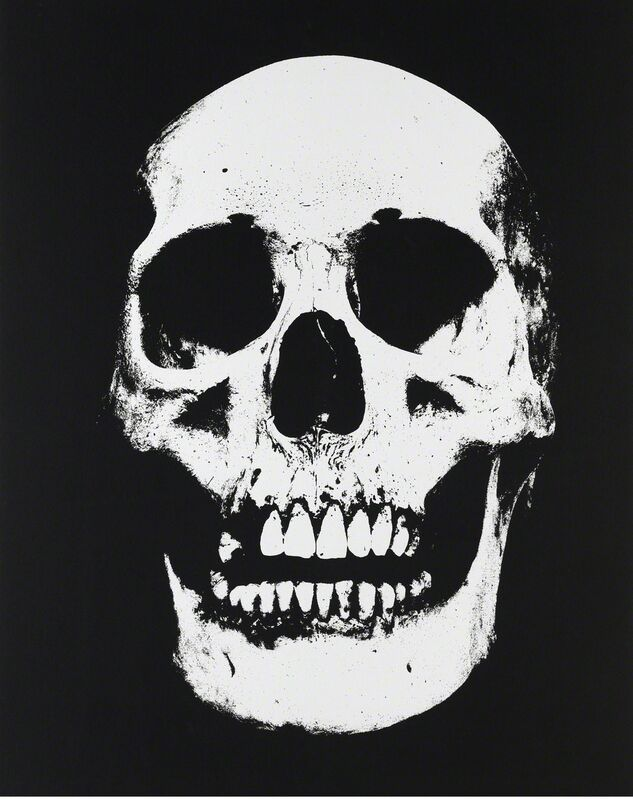 Damien Hirst, 'Hydrochloric Acid', 2010, Mixed Media, UV ink and charcoal on canvas, Gagosian
