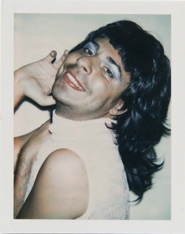 Andy Warhol, 'Andy Warhol, Polaroid Photograph of Bob Colacello in Drag, 1973', 1973, Photography, Polaroid, Hedges Projects