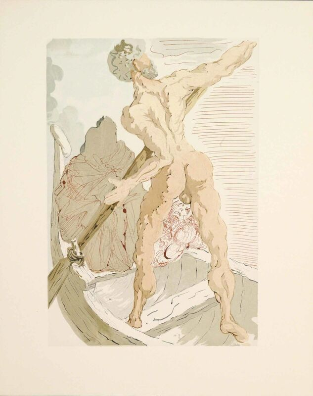Salvador Dalí, 'Hell Canto 3 (The Divine Comedy)', Print, Martin Lawrence Galleries