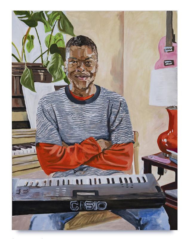 Gerald Lovell, 'Sham', 2020, Painting, Oil on panel, Kohn Gallery