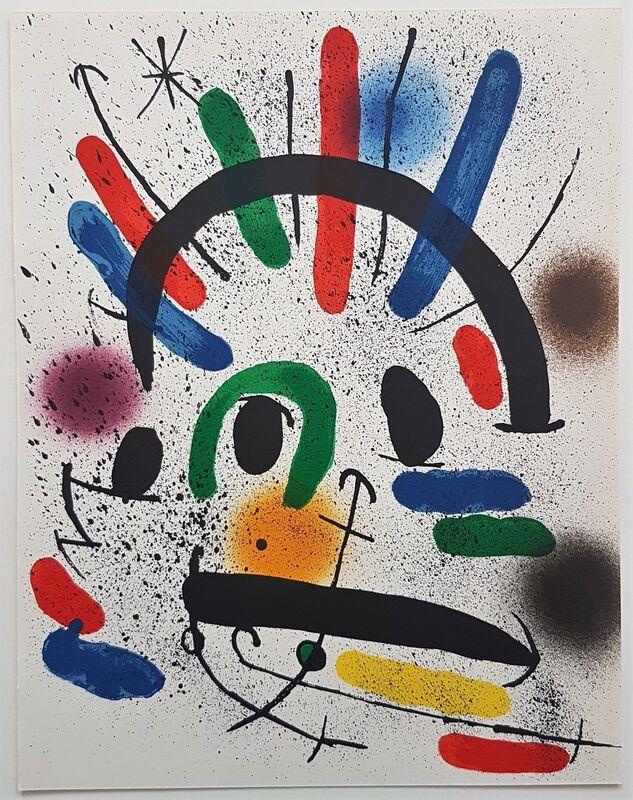 Joan Miró, 'Litografia Original II', 1975, Print, Color Lithograph, Cerbera Gallery