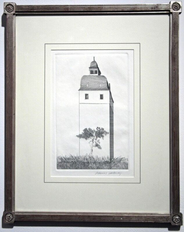 David Hockney, 'The Bell Tower', 1969, Print, Etching and aquatint on Hodgkinson handmade paper, Artsy x Capsule Auctions