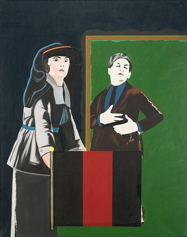 Eduardo Arroyo, 'Untitled', 1971, Painting, Oil on canvas, Il Ponte