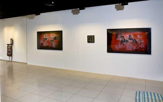 Haim Sokol. About history, installation view