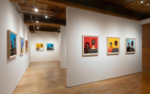 Sonya Clark- Hair/Goods: An Homage to Madam CJ Walker, installation view