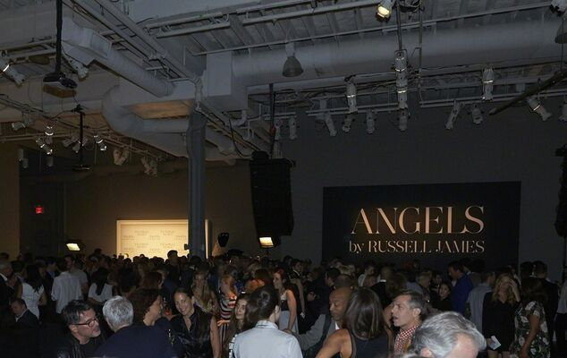 ANGELS Book Launch & Preview Exhibition (Stephan Weiss Studio, New York), installation view