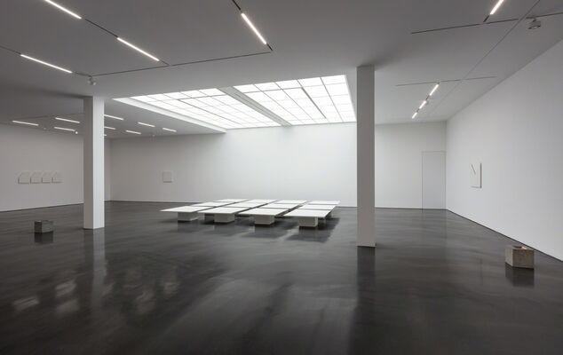 Prabhavathi Meppayil, b/seven eighths, installation view