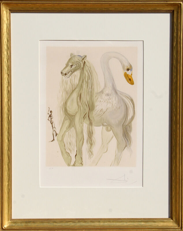 Salvador Dalí, 'Le Chimere d'Horace from Dalinean Horses', 1972, Print, Lithograph, Signed in Pencil, RoGallery