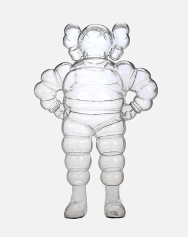 KAWS, 'CLEAR CHUM', 2002, Sculpture, Plastic, Marcel Katz Art