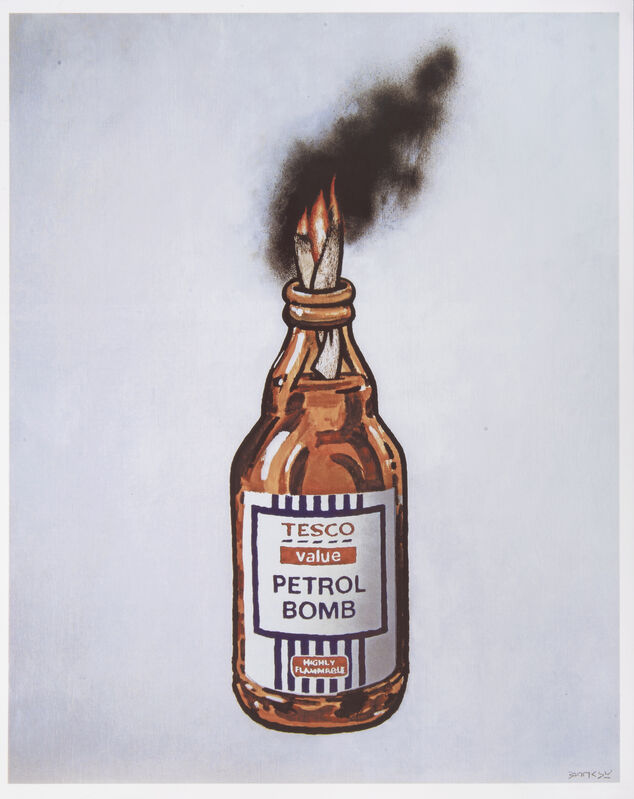 Banksy, 'Tesco Value Petrol Bomb', 2011, Print, Offset lithograph in colours on smooth wove paper, Tate Ward Auctions