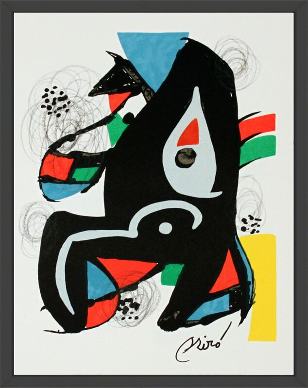 Joan Miró, 'Untitled from La Melodie Acide XIV', 1980, Print, Lithograph, ArtWise