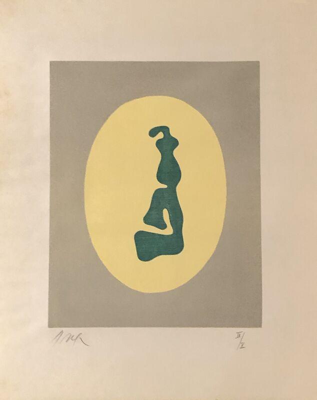 Hans Arp, 'Le Soleil Recercle No.7', 1966, Print, Woodcut, F.L. Braswell Fine Art