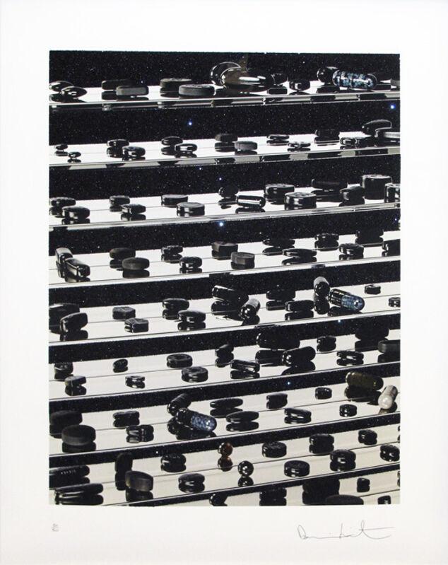 Damien Hirst, 'Dead Black Brilliant Utopia', 2013, Print, Inkjet, glaze, and diamond dust on Hahnemuhle photo rag ultra smooth 305gsm, Hamilton-Selway Fine Art