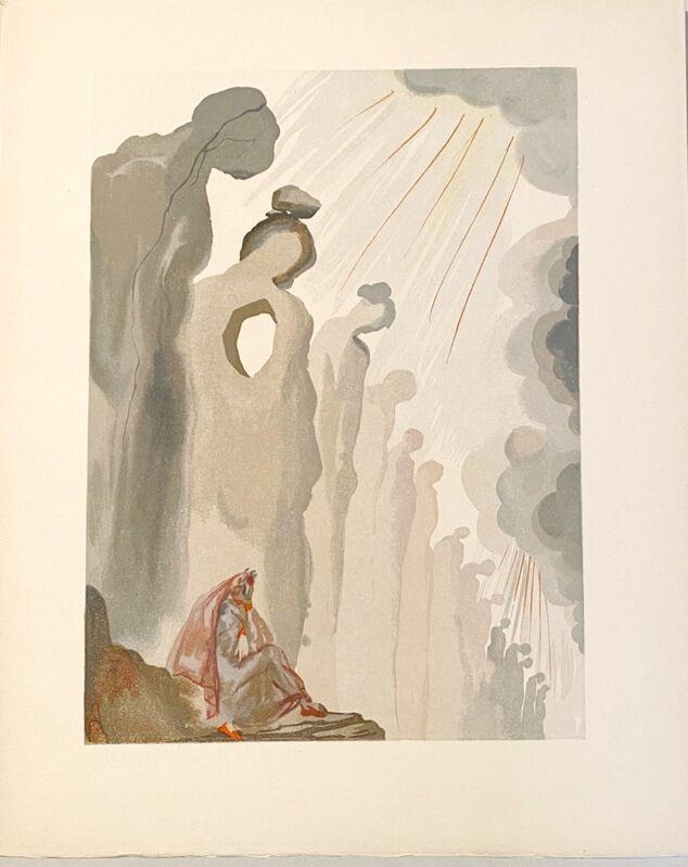 Salvador Dalí, 'La Divine Comédie - Purgatoire 13 - La seconde corniche', 1963, Print, Original wood engraving on BFK Rives paper, Samhart Gallery