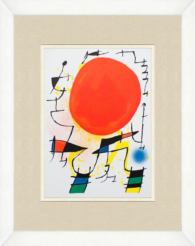 Joan Miró, 'Litografia original III', 1975, Print, Lithograph, ArtWise
