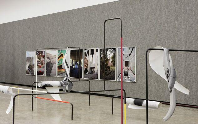 Béton, installation view