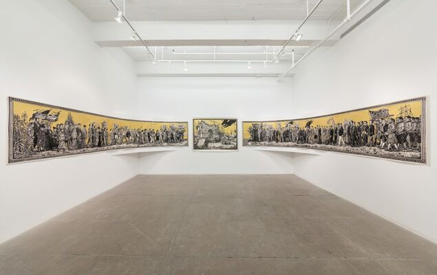 Triumph of Hate, installation view