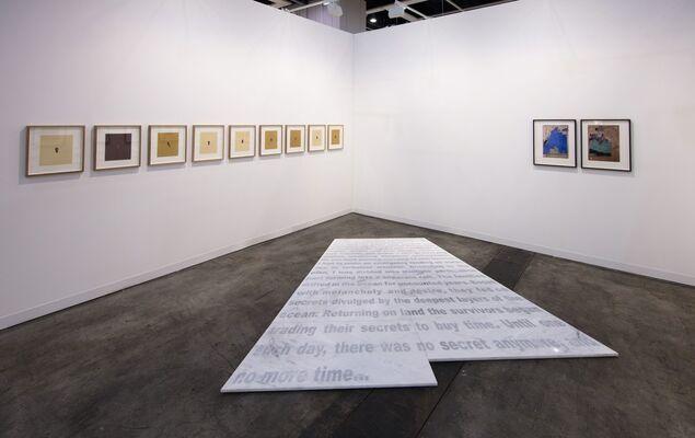 Lawrie Shabibi at Art Basel in Hong Kong 2017, installation view