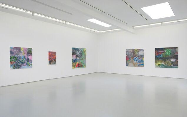 David Huffman: Worlds in Collision, installation view