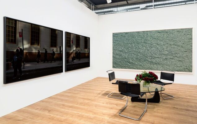 Pace/MacGill Gallery at Art Basel 2017, installation view