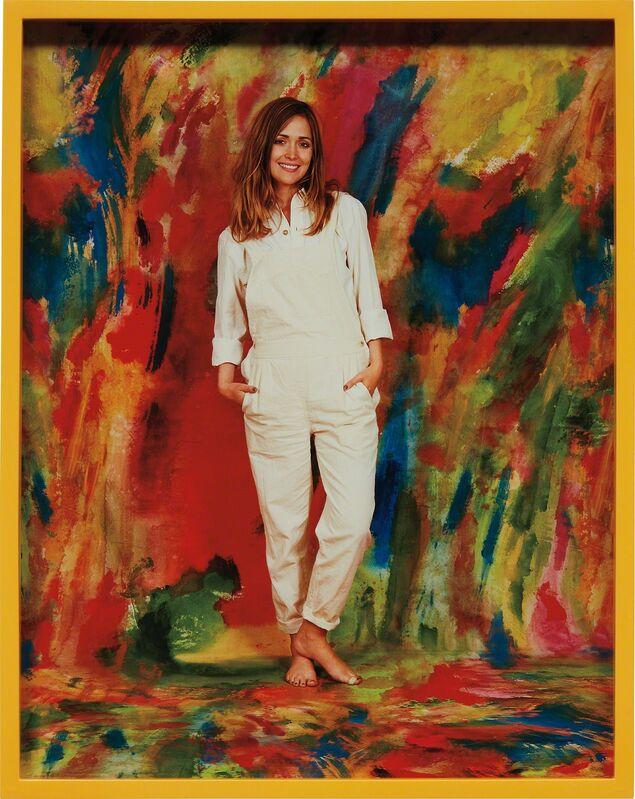 Elad Lassry, 'Woman (Painting)', 2010, Photography, Chromogenic print, in artist's frame, Phillips