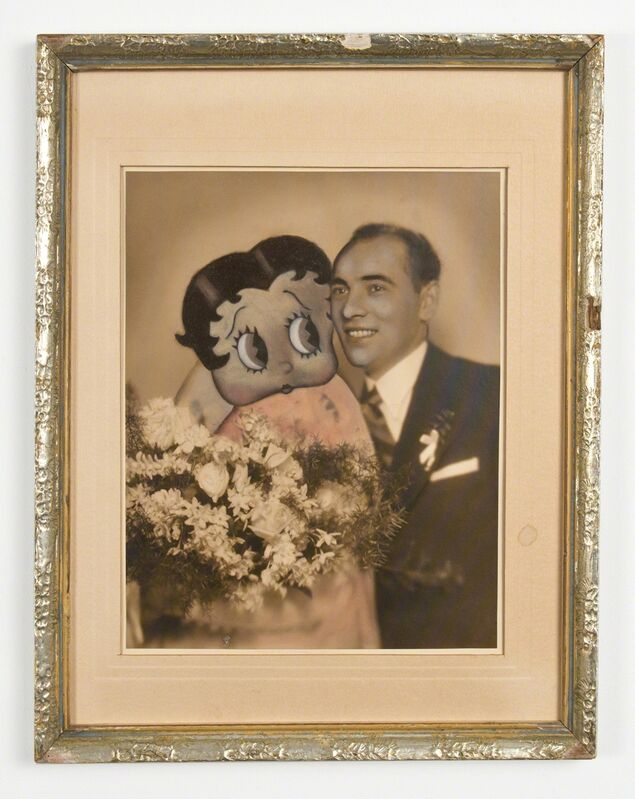 Jana Paleckova, 'Untitled (Betty Boop)', 2015, Painting, Oil on vintage photograph, FRED.GIAMPIETRO Gallery