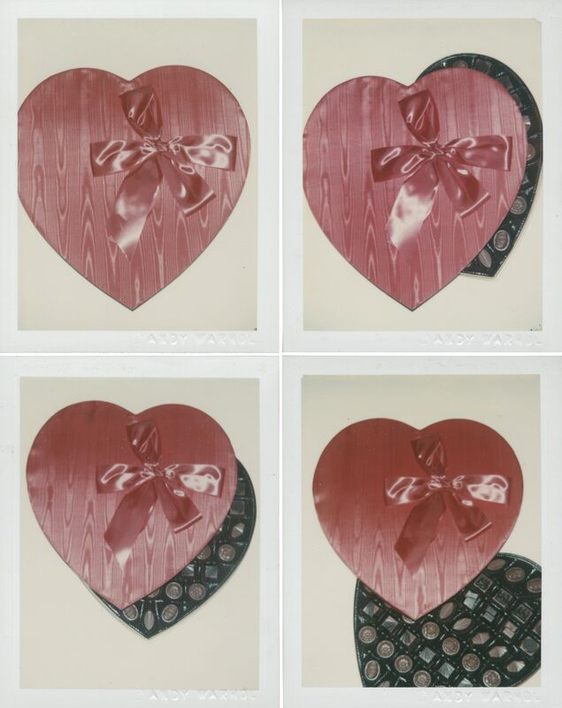 Andy Warhol, 'Candy Box', 1981, Photography, Four unique polaroid prints, Christie's Warhol Sale