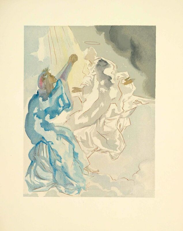 Salvador Dalí, 'Heaven Canto 5 (The Divine Comedy)', Print, Wood engraving, Martin Lawrence Galleries
