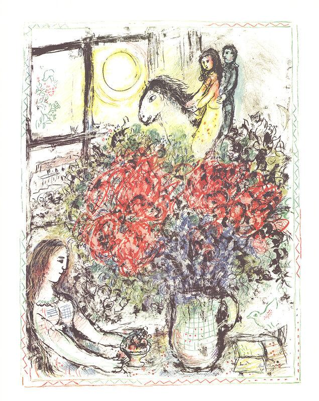 Marc Chagall, 'La Chevauchee (The Ride)', 1979, Print, Stone Lithograph, ArtWise