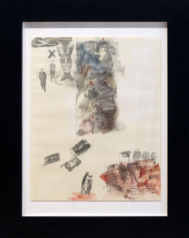 Robert Rauschenberg, 'Canto XII', 1965, Print, Lithograph, Dolby Chadwick Gallery
